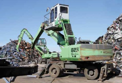 Spanish scrap metal recycling company relies on SENNEBOGEN
