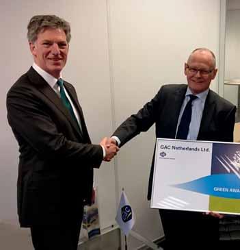 GAC Netherlands & GAC Belgium join Green Award Foundation