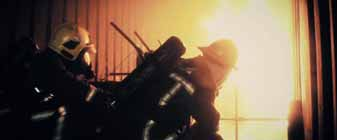 Dangerous times: fire fighting at sea