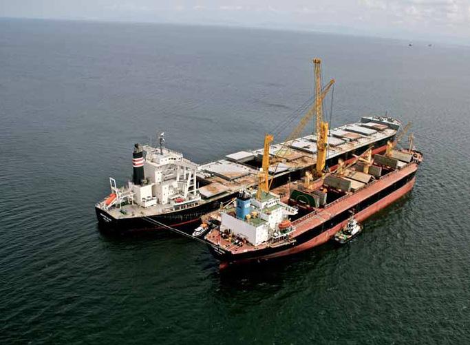 Geared & self-unloading bulk vessels