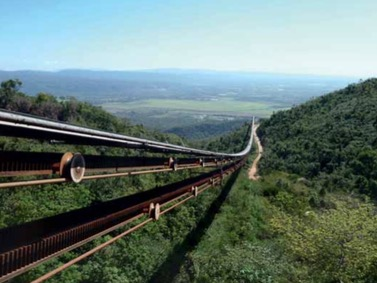 Doppelmayr: RopeCon enables transport of platinum ore across difficult terrain