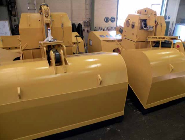 Orts wins major European orders for its hydraulic grabs