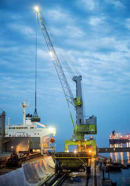 Brazilian bulk terminal again chooses Terex Port Solutions' mobile crane to handle fertilizer