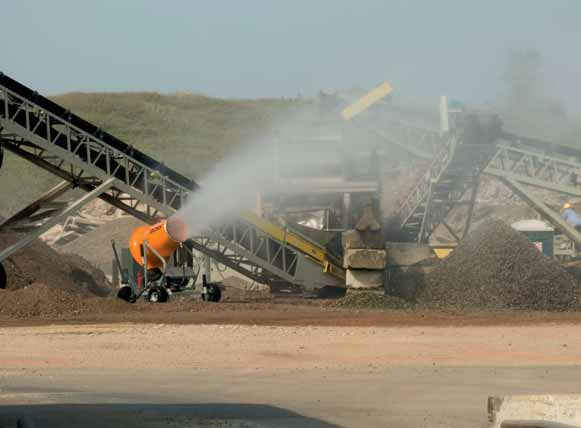 Dust suppression units earn UL and CSA certification