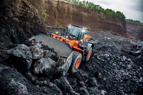 High-performance Hitachi wheel loader saves on costs