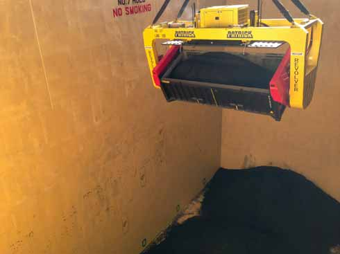 Thinking 'inside the box' Low-capital, dust-free ore exports