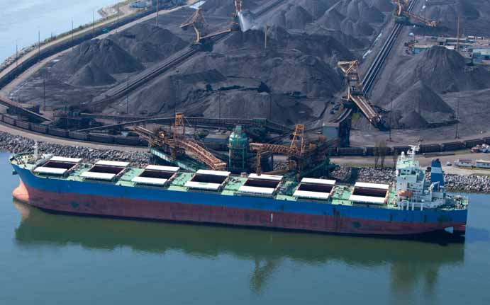 Coal trade saves the dry bulk market
