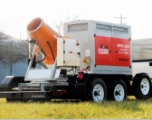 New Mobile Dust Suppression Design: Rugged Construction, Compact Size