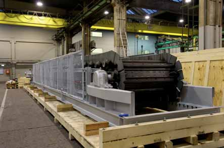 Compact AUMUND conveyors for sintering plant in The Netherlands