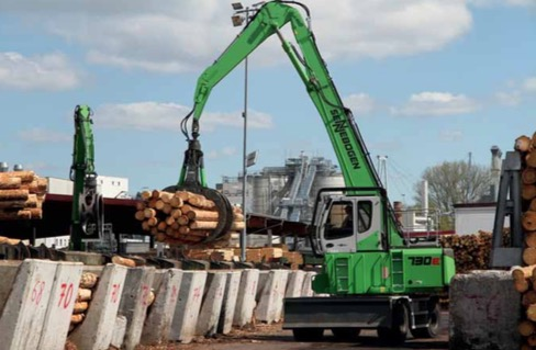 SENNEBOGEN debuts its 730 model – making light work of timber handling