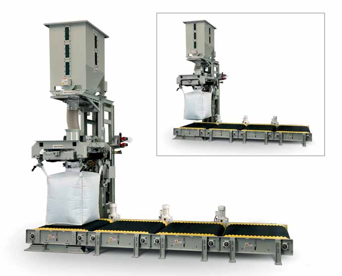 NBE bulk bag filler suitable for highly demanding operating environments