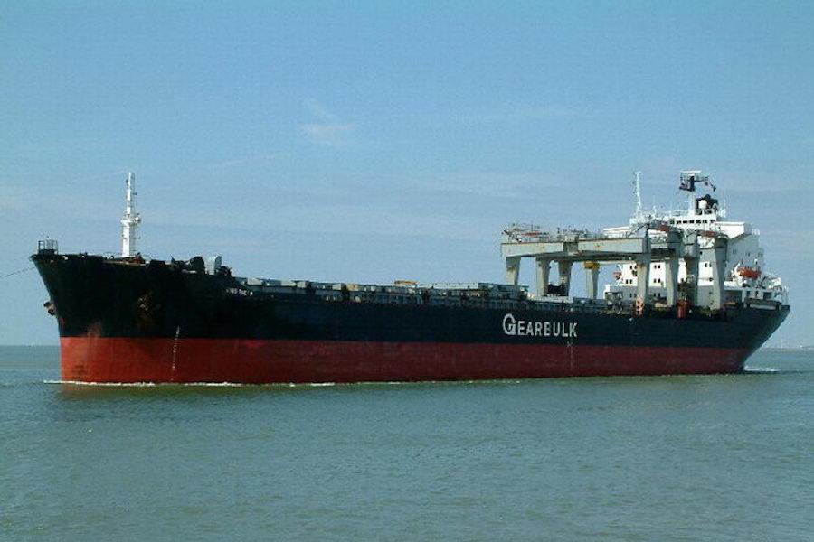 GRIEG STAR, GEARBULK FORM G2 OCEAN