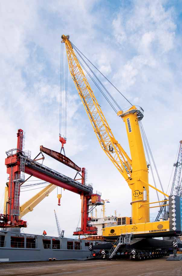 RHB Stevedoring boosts capacity with world's most powerful mobile harbour crane