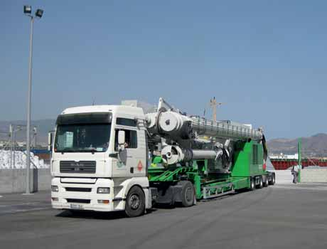 Pair of road-mobile Siwertell unloaders for Turkish operations