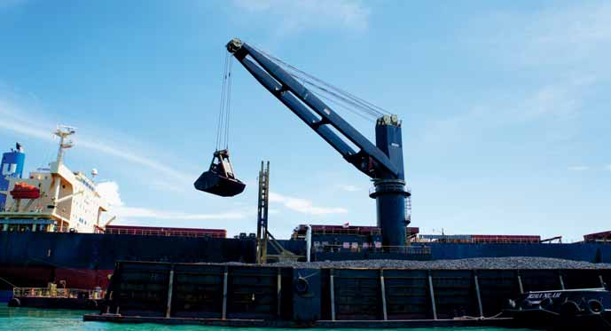 More MacGregor K50 cranes specified for India's bulk handling businesses
