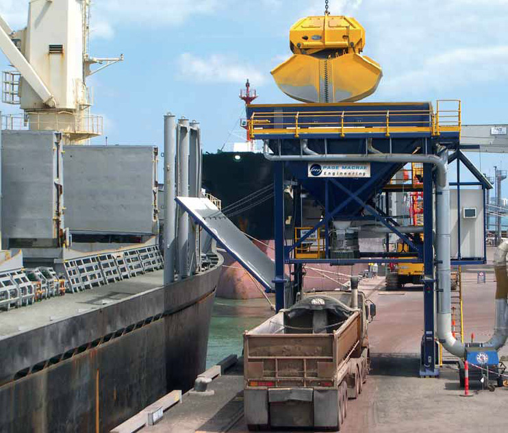 Bulk handling in Australasia - Page Macrae Engineering proves its worth