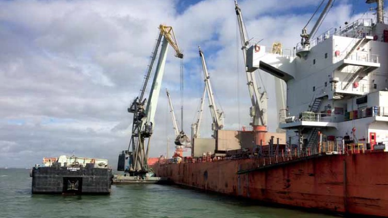 Largest-ever export of Portuguese clinker