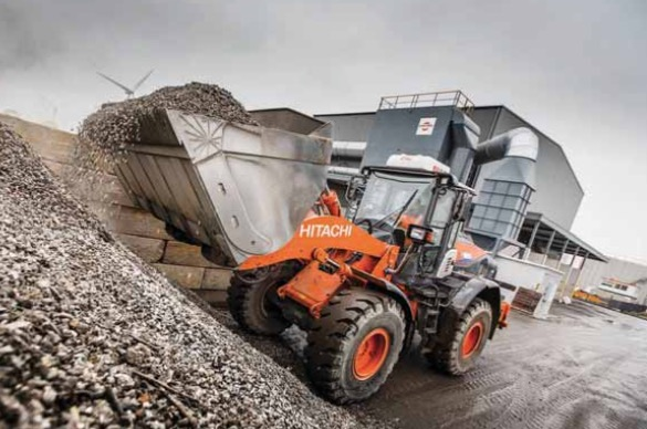 Hitachi fleet provides reliable support on 'urban mining' operation