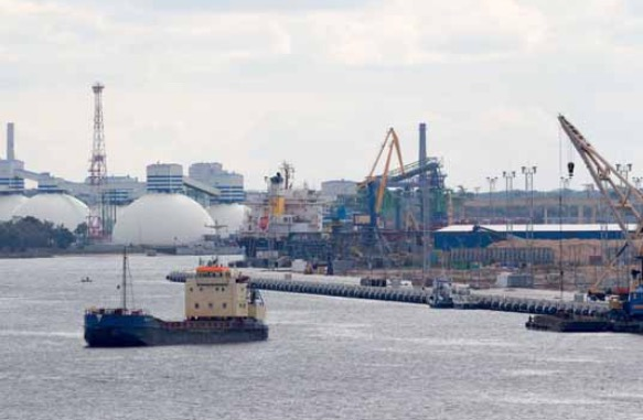 Cargo volume at Riga rises by 2.1% in first quarter