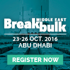 Breakbulk Middle East 2016